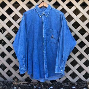 Vintage 90's Chaps Ralph Lauren Denim Shirt